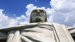 Redeemer Christ (Cristo Redentor) Stock Footage