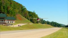 Cessna 182 Skylane Fly By Stock Footage