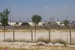 Akcakale syrian  refugee camp Kuvituskuvat