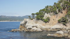 Stock Video Footage of Point Lobos and Carmel, California