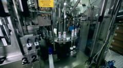 production of toothpaste plant - stock footage