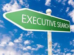 Executive search Stock Illustration