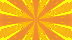 VJ Retro Yellow Looping Background Stock Footage