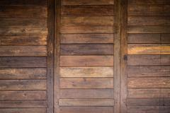 Wood barn door texture background Stock Photos