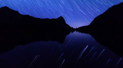Night becomes day. Track. Time Lapse. 1280x720 Stock Footage