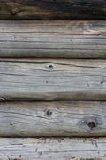 Walls around a log Stock Photos