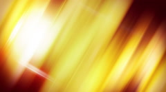Diagonal orange straight lines loopable background Stock Footage