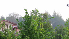 village morning - stock footage