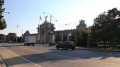 Exhibition Place Entrance Toronto 4 - stock footage