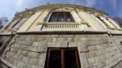 Old building in Dobrogea/Romania Stock Footage