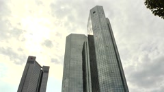 European central bank Stock Footage