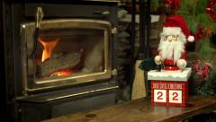 Countdown to Christmas Stock Footage