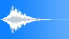Distant pipe piston metallic noise - sound effect