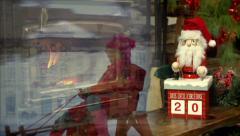 Christmas Calendar Montage Stock Footage