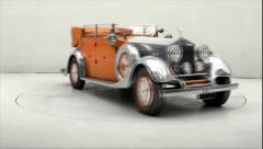 Roles-Royce Phantom ll 1934 Stock Footage