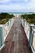 cuban beaches - stock photo