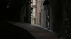Narrow Street in La Pigna San Remo - 29,97FPS NTSC Stock Footage