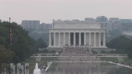 Stock Video Footage of Lincoln Memorial in Washington D.C.
