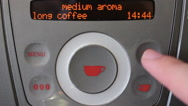 Stock Video Footage of Coffee Machine