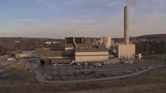Exterior of Power Plant Stock Footage
