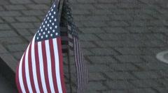 Vietnam Veterans Memorial in Washington D.C. - stock footage