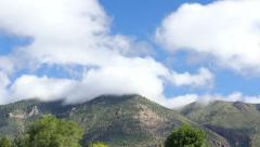 Clouds over Mount Elden Stock Footage