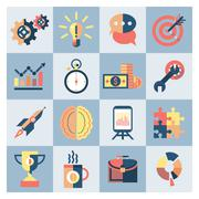 Stock Illustration of Creative icons set