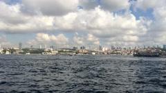 Bosphorus - Side of Asia (Üsküdar) Stock Footage