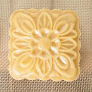 Chinese moon cake ready to be cooked Stock Photos