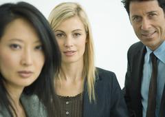Businesspeople, portrait Stock Photos