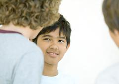 Preteen boys - stock photo