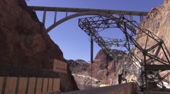 Hoover Dam - Exterior Structures - stock footage