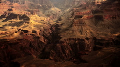 Grand Canyon South Rim  16 Timelapse Phantom Ranch moving clouds and shadows. Arkistovideo