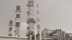China Chemical Plant 2 Stock Footage