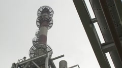 China Chemical Plant 8 Stock Footage