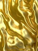 Abstract golden cloth background. Stock Illustration