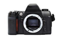 Single lens reflex camara Stock Photos
