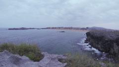 Coast with Beach Stock Footage
