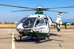 eurocopter ec135 - stock photo