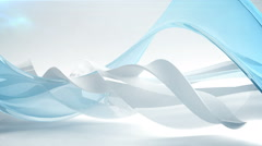 Abstract wave background. Loop. Stock Footage