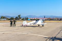 airplane bucker 1131 - stock photo