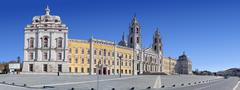 Mafra Palace and Convent, Convento e Palacio de Mafra, Portugal Stock Photos