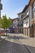 Historical City Centre, Centro Histórico, Guimaraes - stock photo