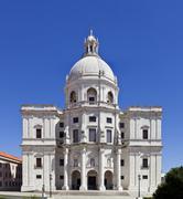 santa engracia church, better known as national pantheon (panteao nacional).  - stock photo