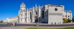 Hieronymites Monastery, Mosteiro dos Jerónimos Lisbon, Portugal Stock Photos