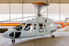Helicopter sikorsky s-76c Stock Photos