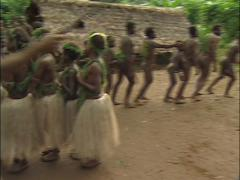 Village People Dancing and Singing Stock Footage