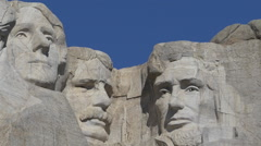 Mount Rushmore Pull Out Stock Footage