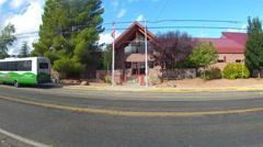Cottonwood Public Library- Cottonwood Arizona Stock Footage