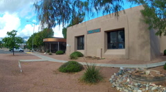 Verde Valley Justice Court House Zoom- Cottonwood Arizona Stock Footage